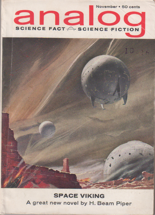 Image - Space Viking, Analog, November 1962